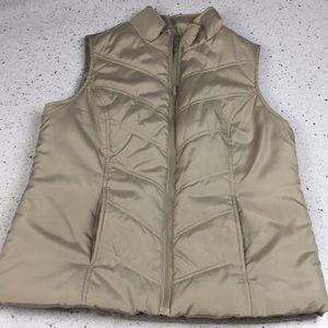 Tan Vest, size Medium, Worn Once